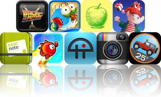 Today's Apps Gone Free: Flux Capacitor, Jump Out HD, Pointillist And More