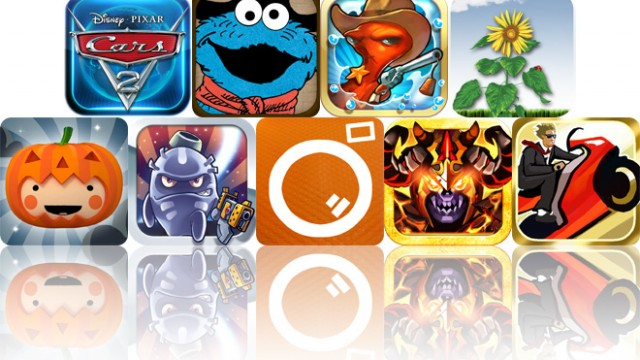 Today's Apps Gone Free: Cars 2, The Great Cookie Thief, Squids Wild West And More
