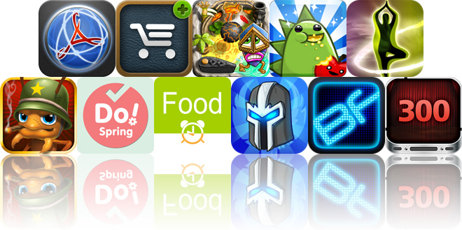 Today's Apps Gone Free: WEB To PDF, iCanShop, Pin Tiki Ball And More