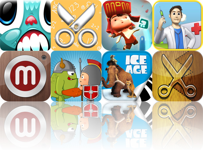 Today's Apps Gone Free: Swingworm, Scrap It: School Days HD, LostWinds And More
