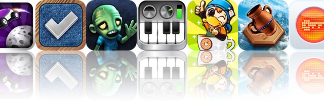 Today's Apps Gone Free: Lunar Racer, Teed, Plight Of The Zombie And More