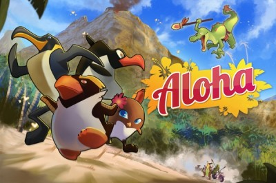 Help Guide A Group Of Bored Penguins To Paradise In Aloha From Hawaii