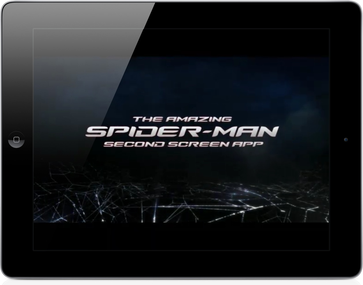 Join The Web With The Amazing Spider-Man Second Screen App For iPad