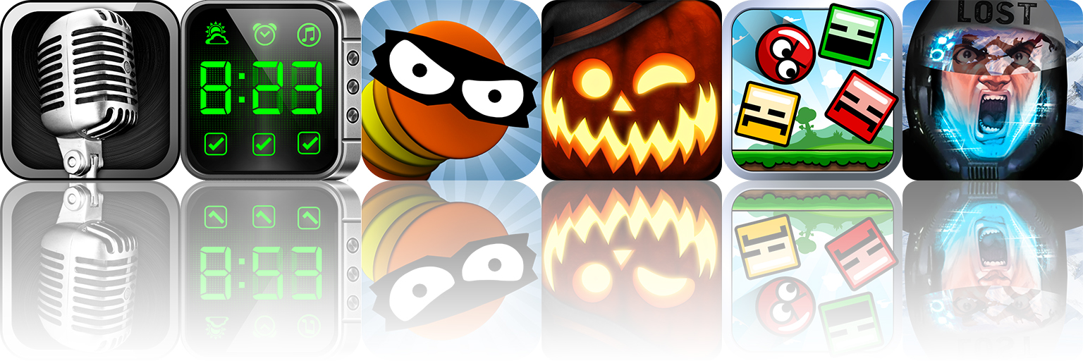 Today's Apps Gone Free: BallAHolic, Facinate Halloween, Blosics And More