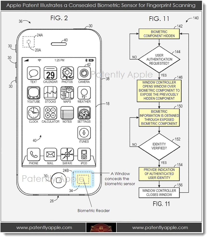 Patent Shows Possible Biometric Future For iOS Devices