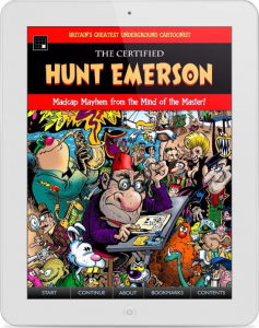 'The Certified Hunt Emerson' For iPad Features 200 Pages From The UK's 'Profane Comic Genius'