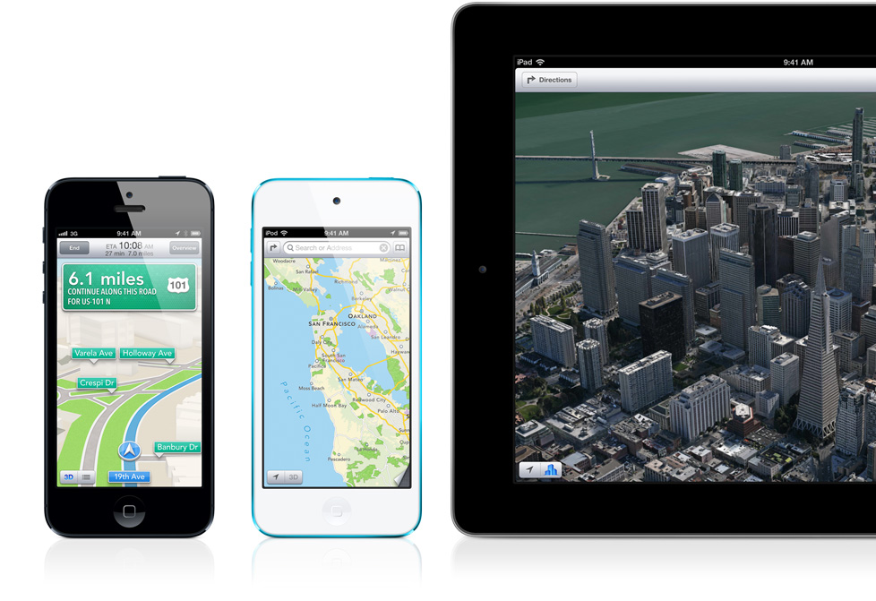 Finally Some Good News About iOS 6 Maps
