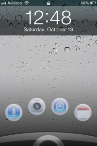 ICSLockPro Jailbreak Tweak: Add Custom App Launches To The Lock Screen