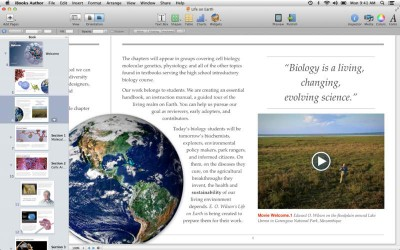 Interactive Books Have Just Become More So With iBooks Author 2.0