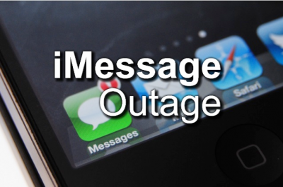 Yes, iMessage Is Down