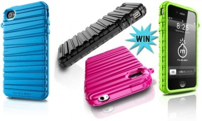 Go Bold And Bouncy By Winning A RubberBand Case For iPhone 4 And 4S