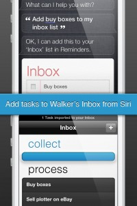 Walker - The Smartest Productivity App for iPhone by Raul Rea Menacho screenshot