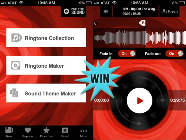 Personalize Your Ringtone And Other Alerts by Winning Pimp Your Sound