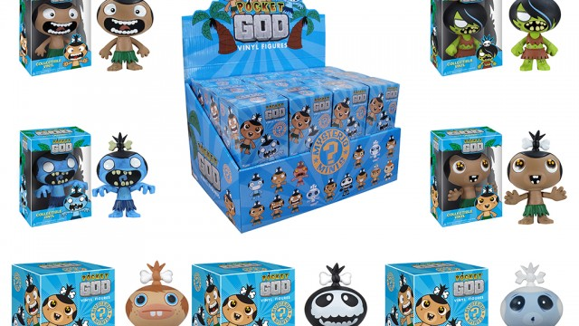 Control The Pygmies In A Whole New Way With Pocket God Figurines