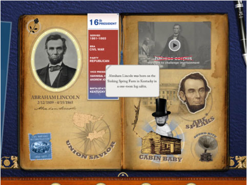 New App From Disney Puts Fresh Spin On Presidential History