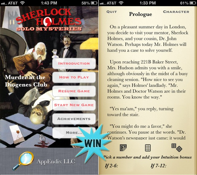 Win A Sherlock Holmes Promo Code And Join In On A Clue-Hunting Adventure
