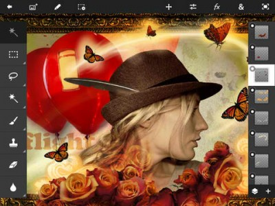 Adobe Photoshop Touch Now Optimized For iPad mini And Pressure-Sensitive Styli