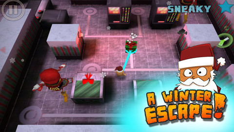 Jingle All The Way As You Make Your Getaway In Critter Escape's Christmas Version
