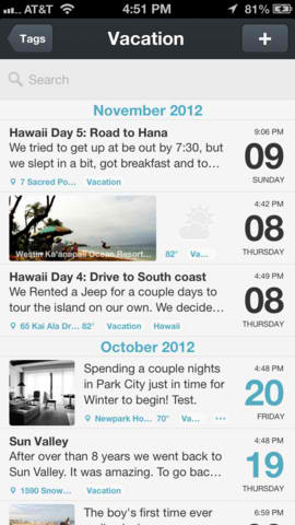 Search And Tagging Features Finally Written Into Popular Journaling App Day One