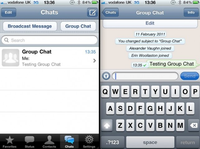 WhatsApp Messenger Updated: Adds iPhone 5, iOS 6 Improvements