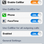 CallBar Jailbreak Tweak Updated: Adds New Features, Plus iOS 6 Support