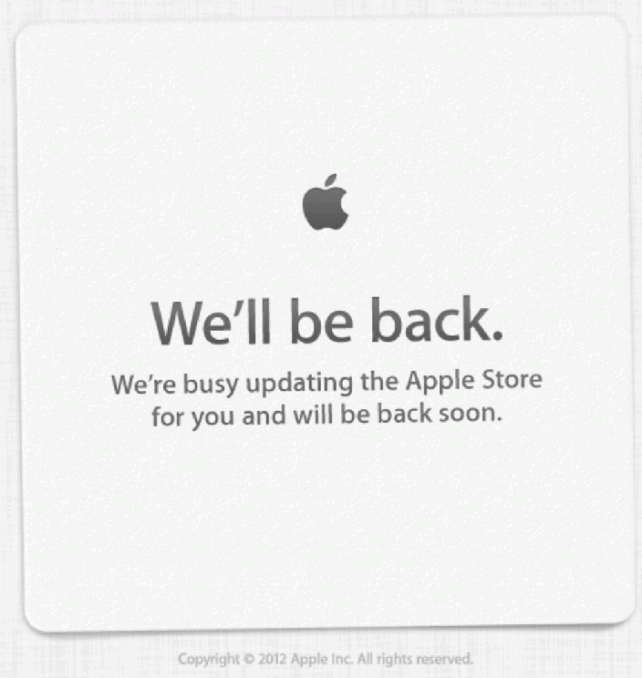 Apple Online Store Goes Down: Black Friday Discounts Incoming
