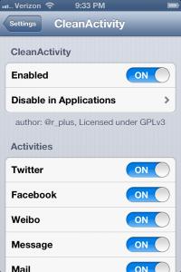 CleanActivity Jailbreak Tweak Can Clean Up Your iOS 6 Sharing Menu
