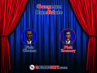 Quirky App Of The Day: Election 2012: Gangnam Candidate