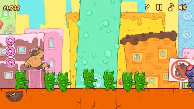 Burrito Bison Needs Your Help To Squish The Evil Gummy Bears Of Candy Land