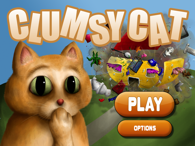 Quirky App Of The Day: Clumsy Cat Destroys All That You Hold Dear