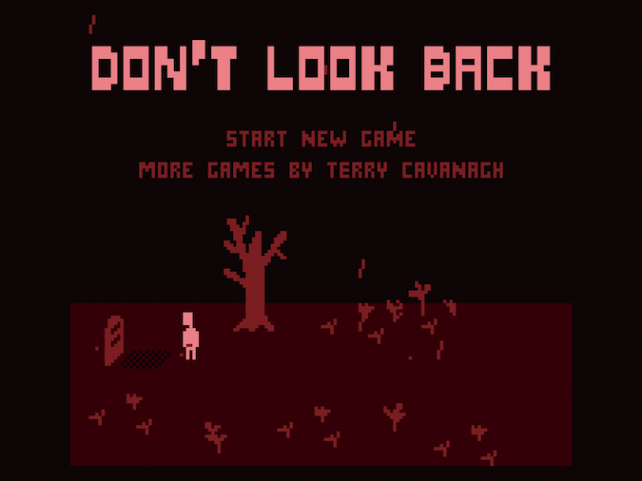 Quirky App Of The Day: Don't Look Back Looks Back On 8-Bit Gaming