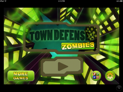 Quirky App Of The Day: Town Defense: Zombies