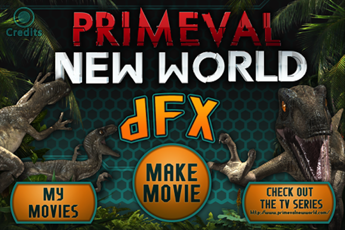 Quirky App Of The Day: Primeval: DFX Adds Dinosaurs To Your Home Videos