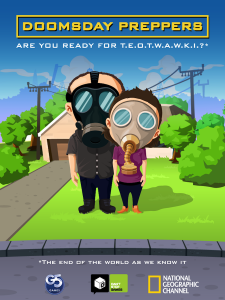 Quirky App Of The Day: Doomsday Preppers Get Ready For The Big Day