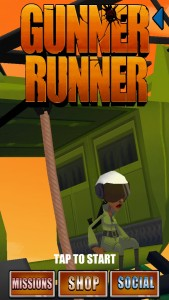 Gunner Runner by Ghostbox Pty Ltd screenshot