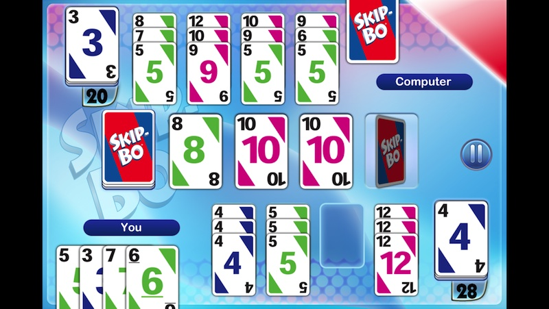 Skip-Bo Hits The App Store With Online Multiplayer Mode