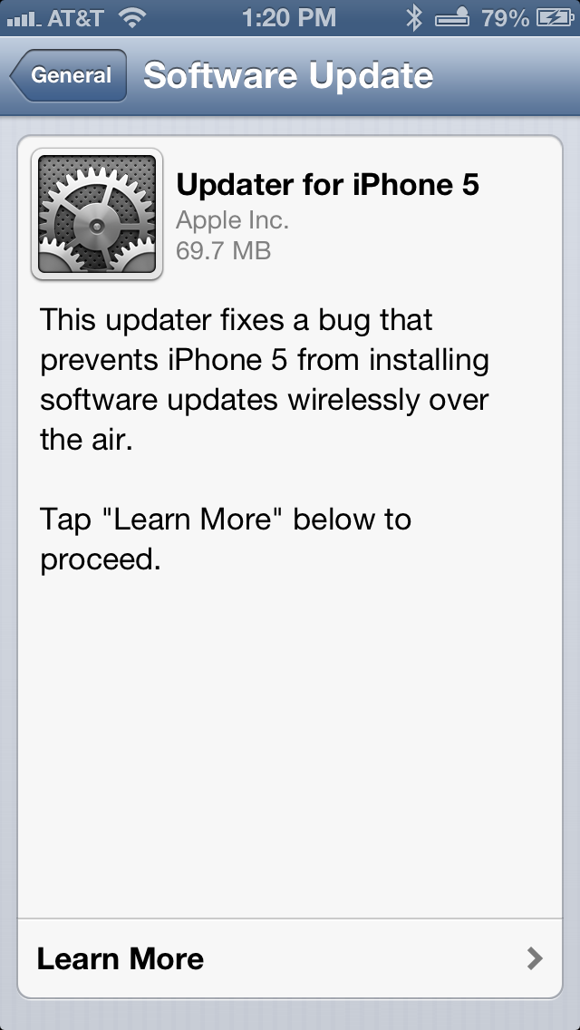 Apple Releases iOS 6.0.1 Update, Fixes Horizontal Line Bug On iPhone 5
