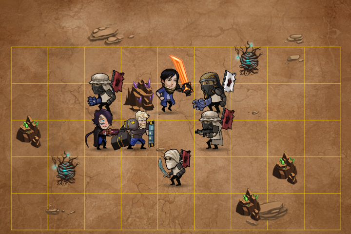 Epic Turn-Based Game Found In Solarian Tactics