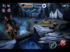 Outlaw™ by Atari screenshot