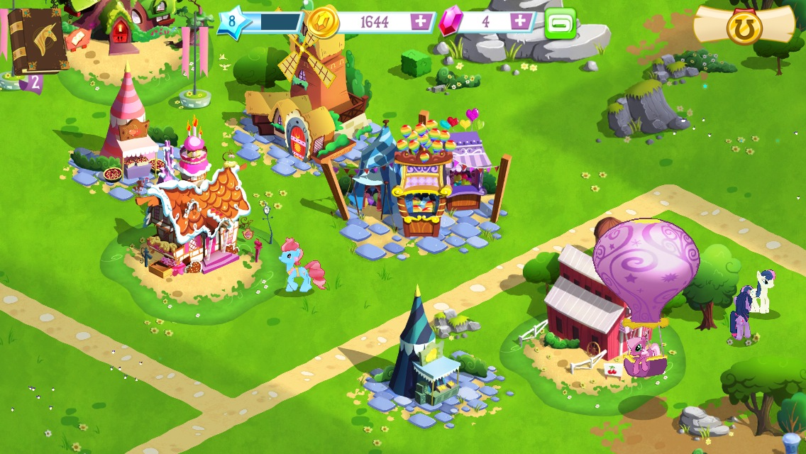 Bronies rejoice create your own ponyville in my little Magic app