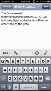 Tweet It by Pragmatic Code screenshot