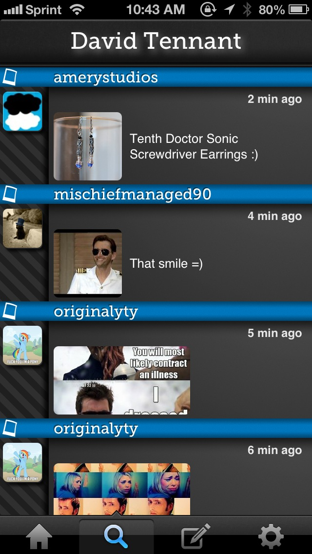 Get Tumblin' On Your iPhone With Bloggn