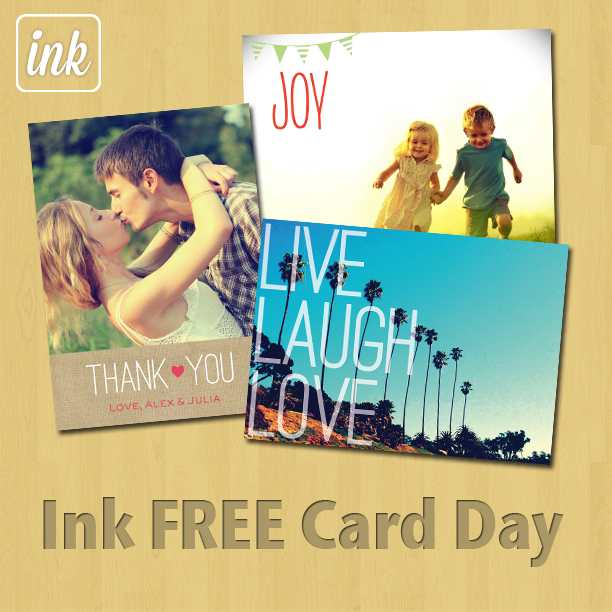 Today Is Free Card Day With Sincerely's Ink Cards