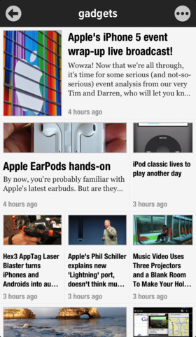 Toggle Readability More Easily In New Version Of Google Reader App Newsify
