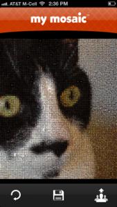 mymosaic - photo mosaic maker by MindTrip Studios screenshot