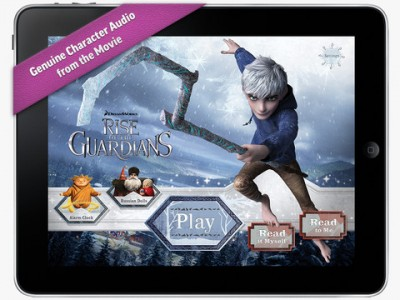 Rise, Read And Revel In Rise Of The Guardians Movie Storybook Deluxe
