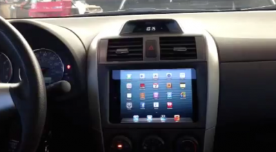 The iPad mini Is Here: And It's Just Been ... Installed In A Toyota Corolla?