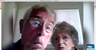 Stars Of YouTube's 'Webcam 101 For Seniors' Learn How To Use Siri