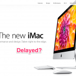 There May Not Be A New iMac Under The Christmas Tree After All