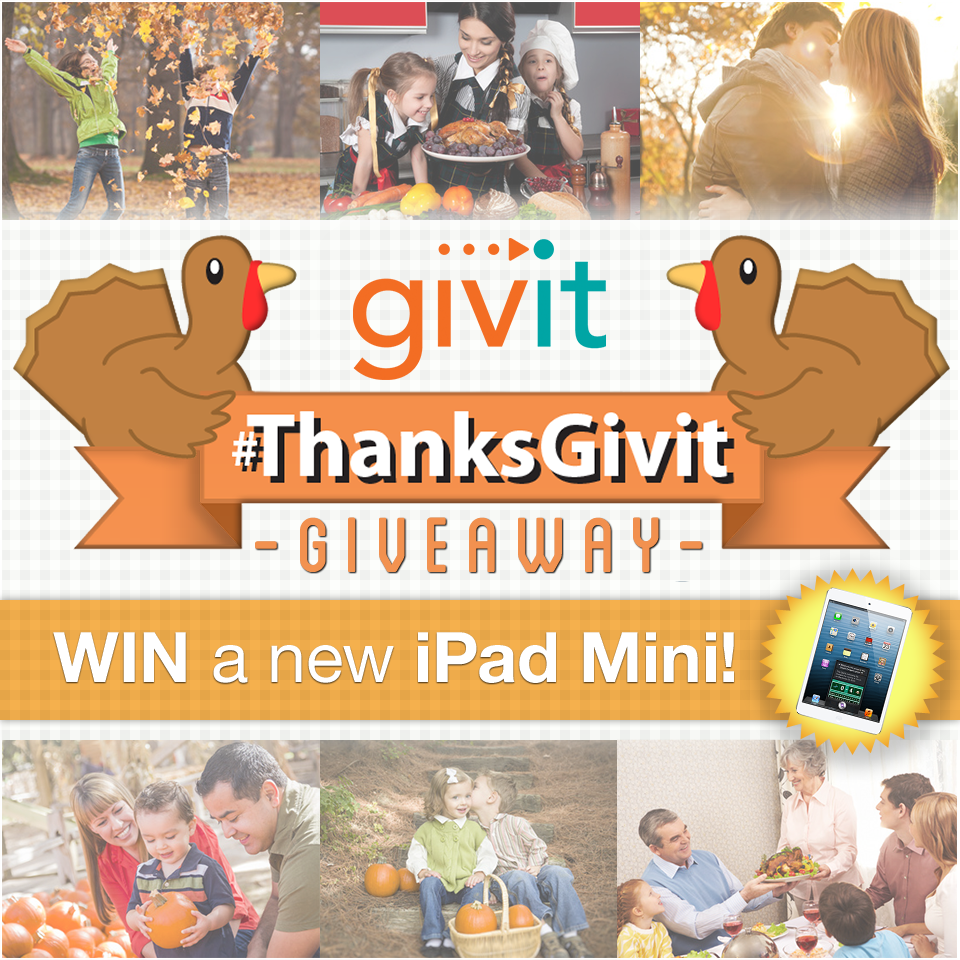 Join The ThanksGivit Contest And You Might Just Be Thankful For A New iPad mini